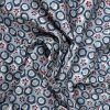 Multicolor Abstract Print On Cotton Fabric 8465