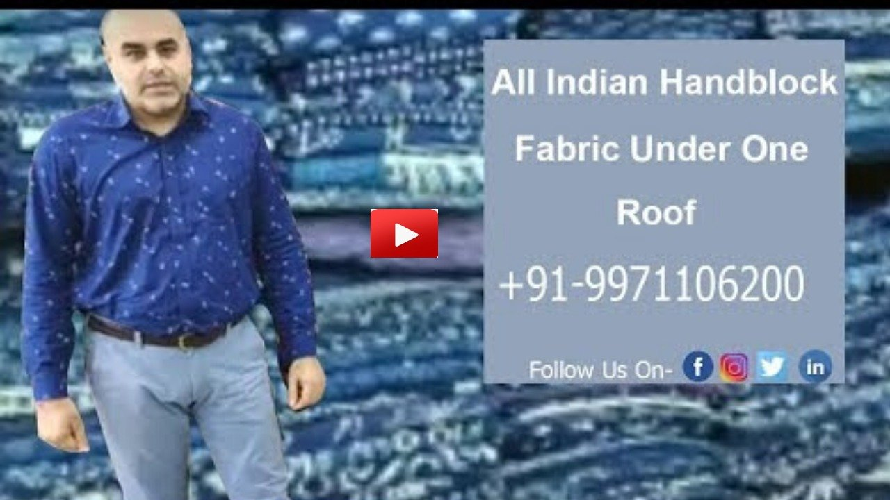 Printed-Indian-Handblock-Fabric-Charu-Creation